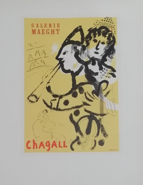 Marc Chagall, 'Galerie Maeght', 1959, Hidden