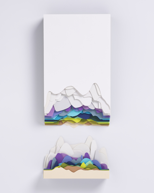 , 'Montagne Bleue,' 2019, Galerie Art Jingle