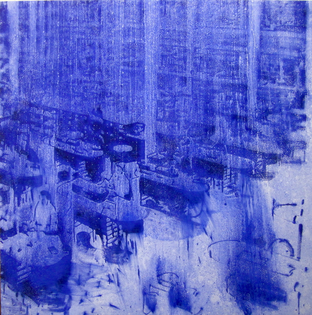 Jorge Tacla, 'Identidad Oculta 41', 2013, Painting, Oil and marble powder on canvas, Cristin Tierney