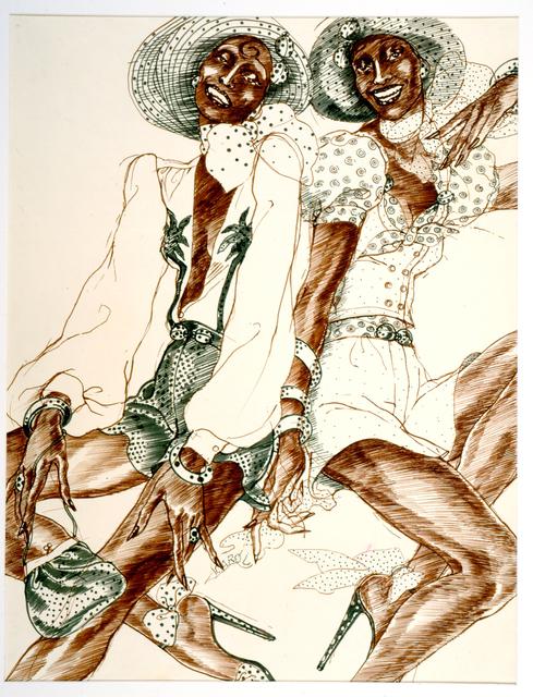 , 'Carole Laurie 2 Paris,' 1971, El Museo del Barrio