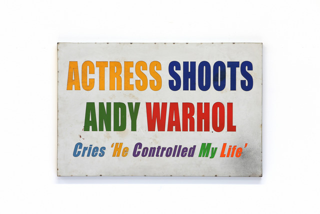 , 'Actress Shoots Warhol,' 2019, Caldwell Snyder Gallery