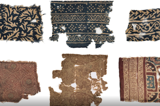 , 'Block-printed Textiles from Fustat in Egypt,' 1250-1350, Jehangir Nicholson Art Foundation