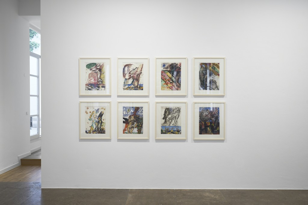 Markus Lüpertz. Studies of a Sculpture, 2017, Installation view