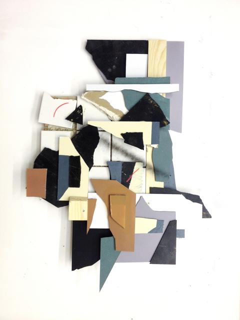 , 'Splitterrelief #2,' 2013, Gestalten