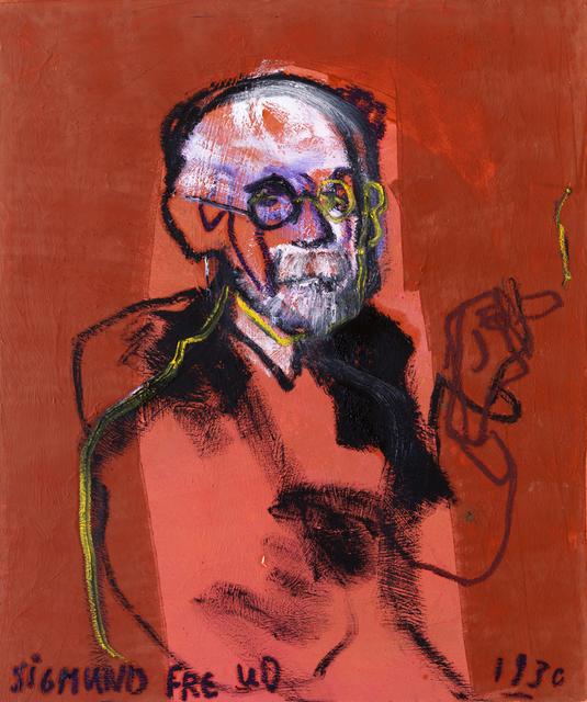 , ' Sigmund Freud 1930,' 2015, Zemack Contemporary Art