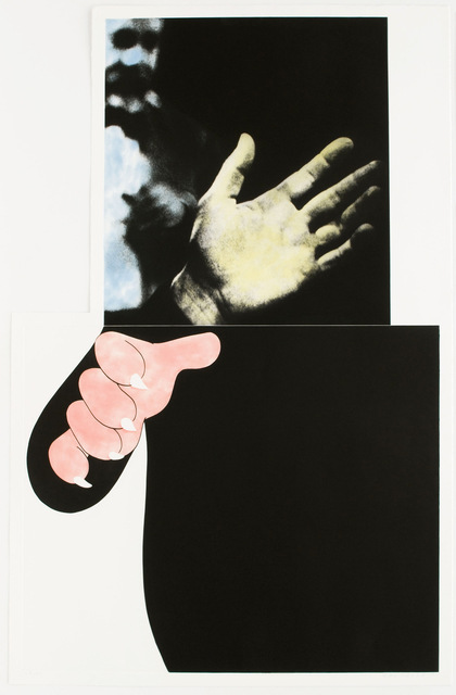, 'Two Hands (with Distant Figure),' , Brooke Alexander, Inc.