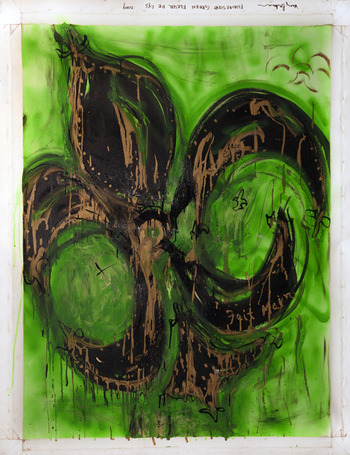 Marcy Brafman, 'Fluorescent Green Fleur de Lys', 2009, Court Tree Gallery