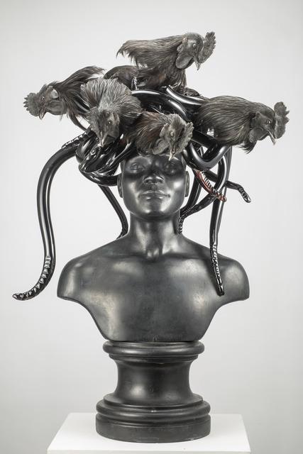 , 'Black Medusa,' 2015, Fondazione Berengo