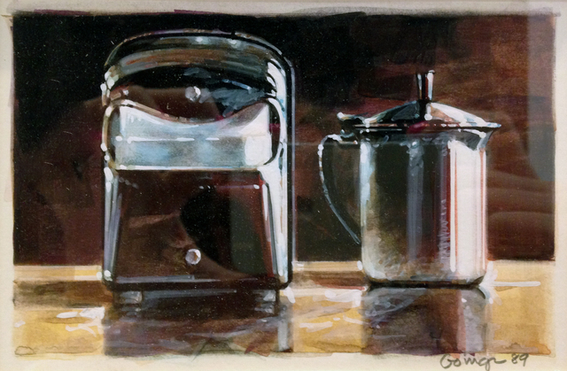 , 'Napkin Box and Creamer,' 1989, Jonathan Novak Contemporary Art