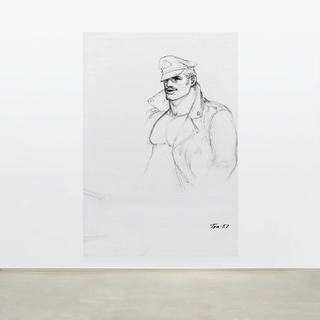 TOM OF FINLAND, Untitled (in situ), 1987