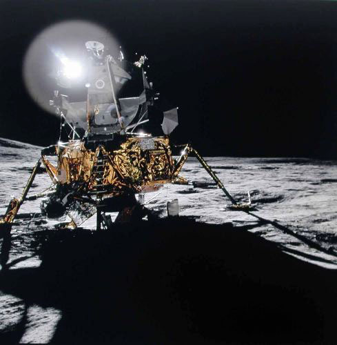 Michael Light, 'The Lunar Module Antares at Fra Mauro; Photographed by Alan Shepard, Apollo 14, ', 1971, Vision Neil Folberg Gallery