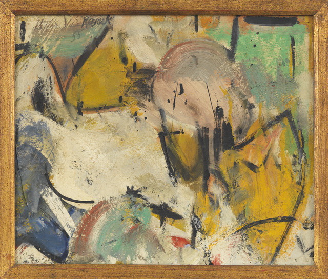 Milton Resnick, 'Untitled', 1955, Painting, Oil on canvas, The Milton Resnick and Pat Passlof Foundation