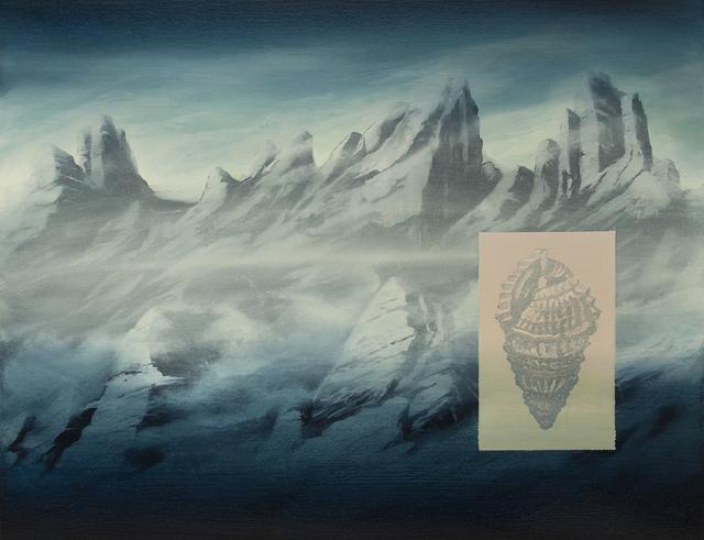 , 'La Montagne coquillage,' 2015, Galerie Les filles du calvaire