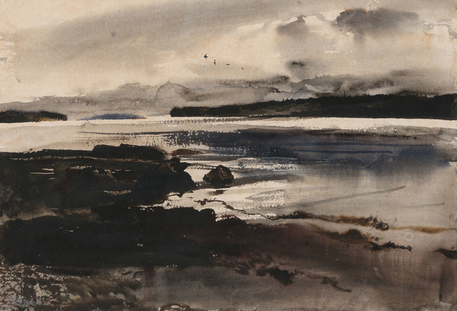 Andrew Wyeth, 'Sea Birds', Painting, Watercolor on paper, Doyle