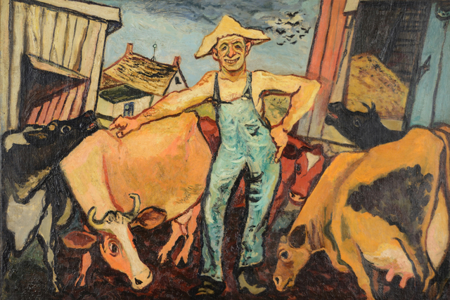 Gregorio Prestopino, 'The Happy Farmer', ca. 1935-40, Caldwell Gallery Hudson