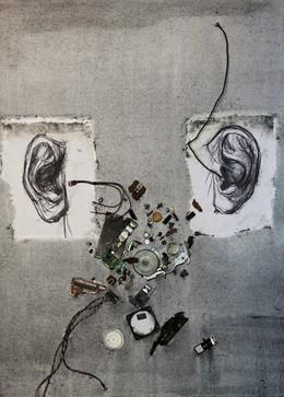 , 'Is Anyone Listening or Am I talking to myself?,' 2011, Kolodzei Art Foundation