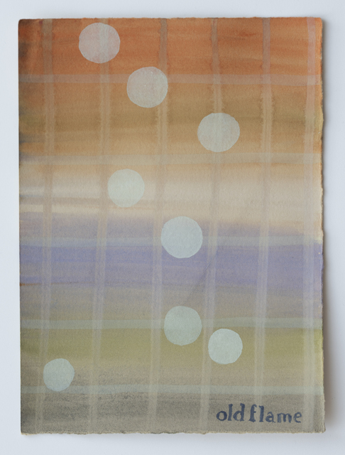 , 'Domestic Textiles Series, Old Flame,' 2019, frosch&portmann