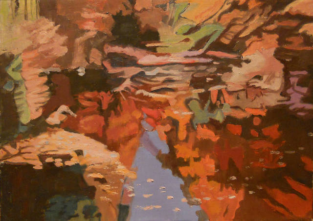 , 'Fall Reflections,' 1993-1994, Walter Wickiser Gallery