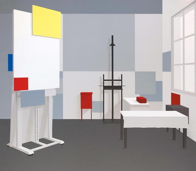 , 'Raum 1321,' 2017, Galerie Hans Mayer