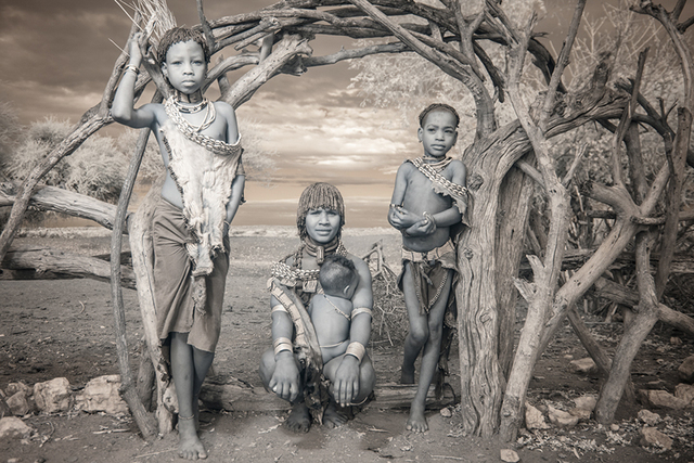 Terri Gold, 'Hamar Family in the Omo Valley, Ethiopia', 2014, The Watermill Center Benefit Auction