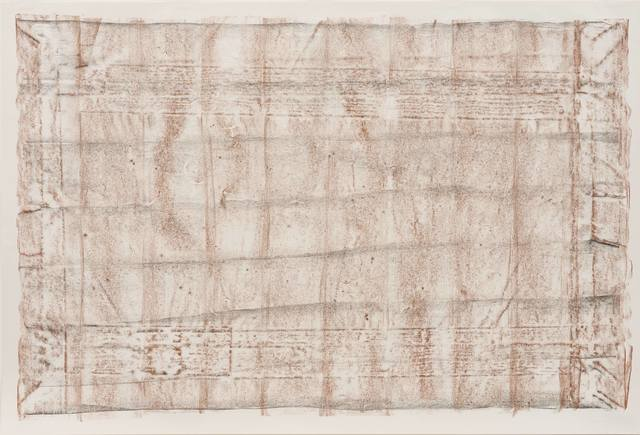 , 'Brown and Black Rubbings, no. 3, from the New York Color Rubbings series,' 1972, Hammer Museum