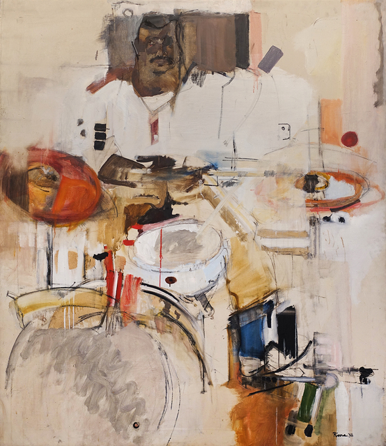 , 'The Drummer,' 1958, Hollis Taggart
