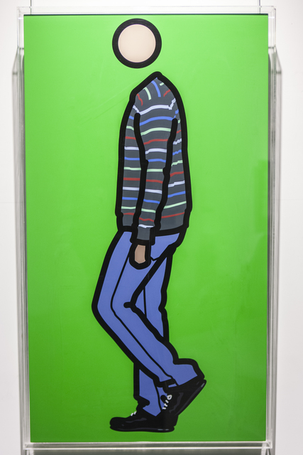 , 'Jeremy walking in stripy jumper 1,' 2010, Opera Gallery