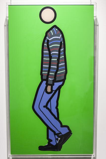, 'Jeremy walking in stripy jumper 1,' 2010, Opera Gallery