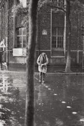 Alberto Giacometti, rue d'Alésia, Paris