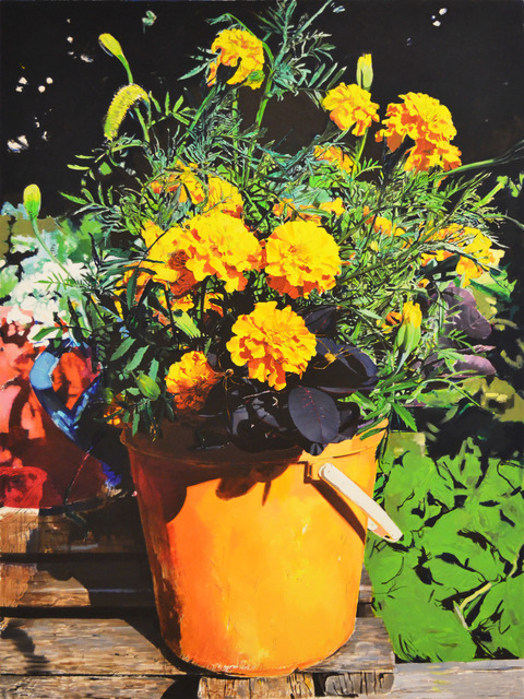 , 'Flowers(Y),' 2017, Aki Gallery