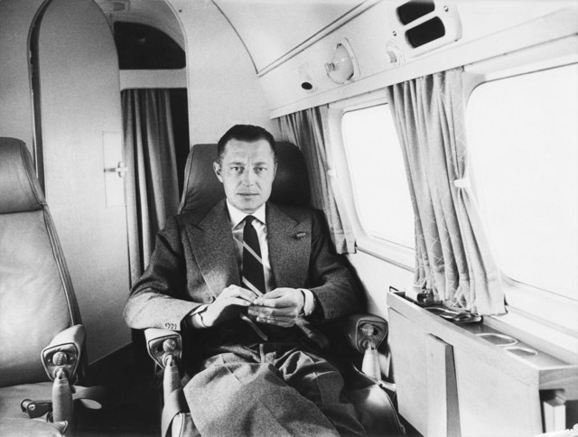 , 'Gianni Agnelli in his Private Plane. March 1957.,' , Galerie XII
