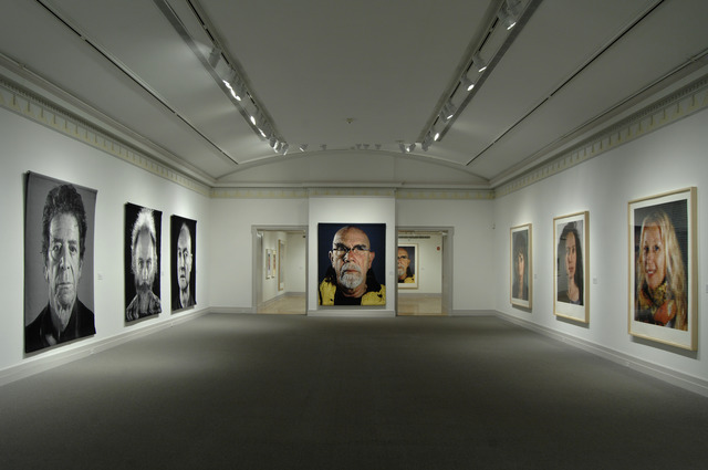 Chuck Close, 'Installation view of Chuck Close: Recent Works,' August 10 , October 14, 2013, Guild Hall