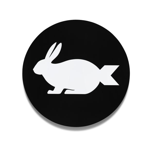 """Scott Patt, '""""bunnybomb"""" (black)', 2012, Winston Wächter Fine Art"""