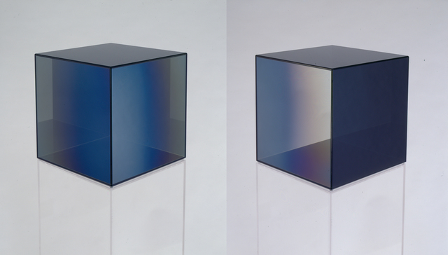 , 'Cube #11 (Dark Grey),' 2007, Bernard Jacobson Gallery