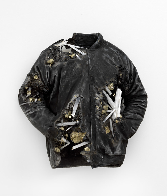 , 'Pyrite and Ash Eroded Lakers Jacket,' 2019, Galerie Ron Mandos