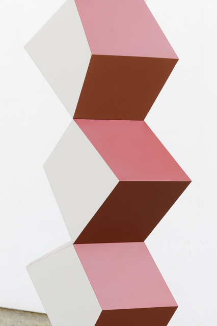Angela Bulloch, 'Heavy Metal Stack of Six: How Now? (detail)', 2019, Simon Lee Gallery