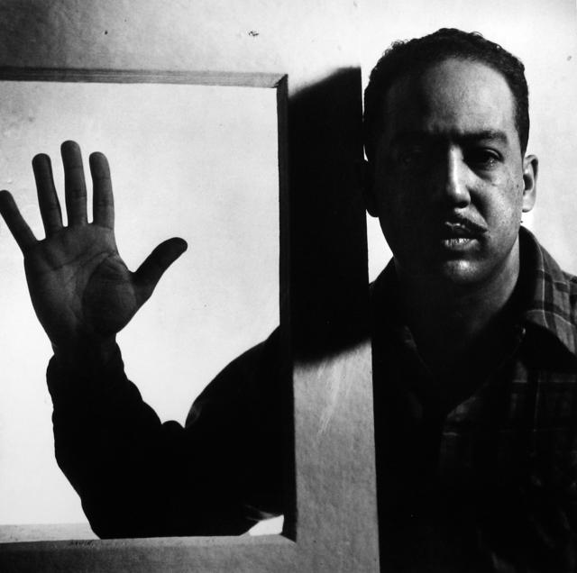 , 'Langston Hughes, Chicago,' 1941, Howard Greenberg Gallery