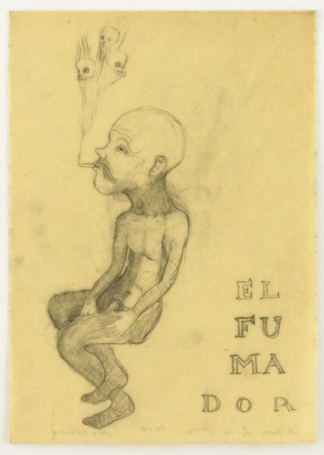 , 'EL FUMADOR,' 2009, Wooson Gallery