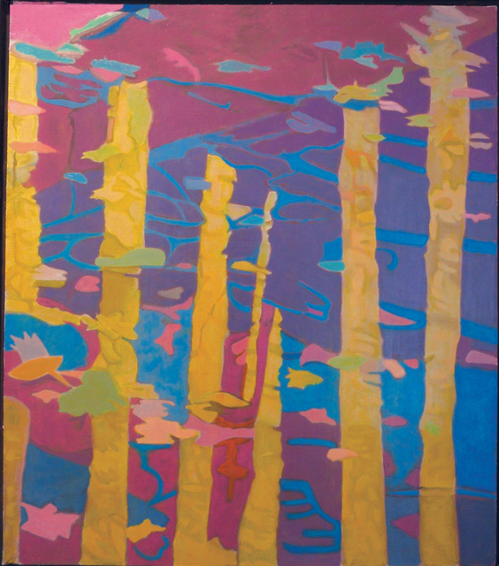 , 'Yellow Reflection II,' 1987, Walter Wickiser Gallery