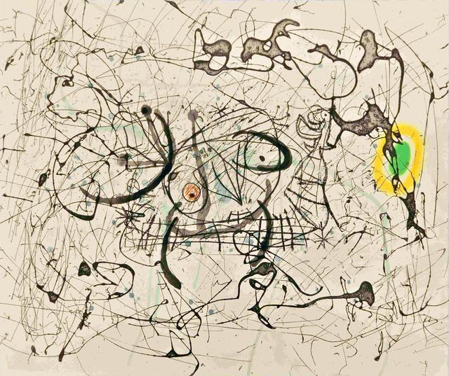 Joan Miró, 'Fissures planche 14', 1969, Le Coin des Arts