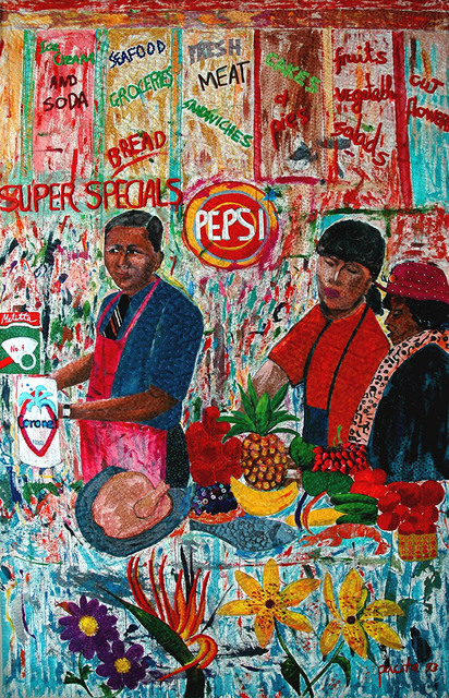 , 'Korean shopkeepers,' 1993, Pacita Abad Art Estate