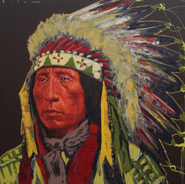 , 'Jack Red Cloud II,' 2017, Valley Fine Art